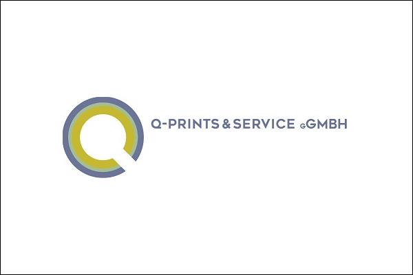 Logo der Q Prints & Service gGmbH