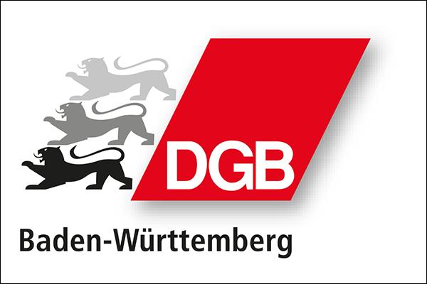 Logo des deutschen Gewerkschaftsbundes Bezirk Baden-Württemberg