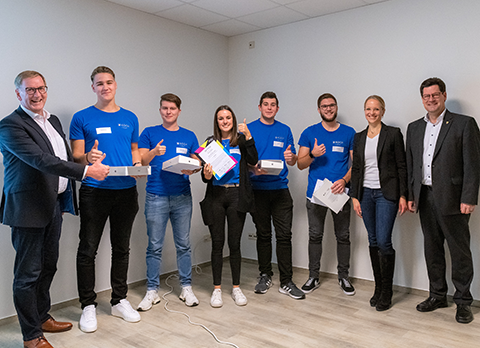Bild vom Junior Manager Contest 2019 der Fachkräfte-Allianz Nordschwarzwald