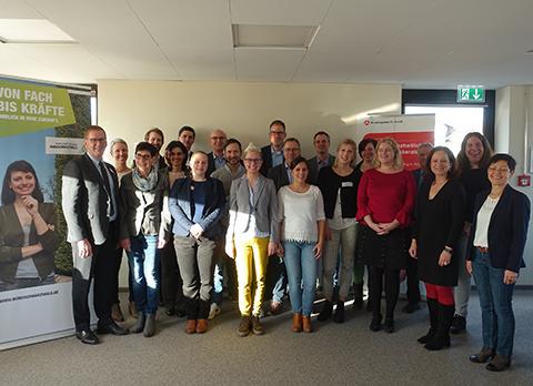 Bild vom Treffen zur Fachkräftesicherung der Fachkräfte-Allianz Nordschwarzwald
