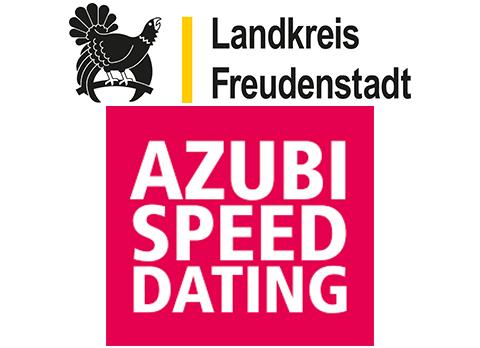 Logo des Landkreises Freudenstadt und Logo des Azubi-Speed-Dating