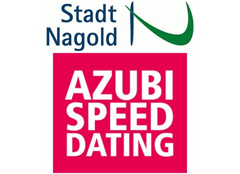 Logo der Stadt Nagold und Logo des Azubi-Speed-Datings