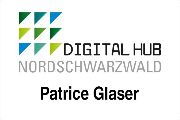 Logo Digital Hub Nordschwarzwald, Innovationsintermediär Patrice Glaser