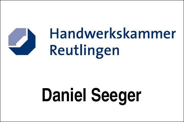 Logo Handwerkskammer Reutlingen, Innovationsintermediär Daniel Seeger