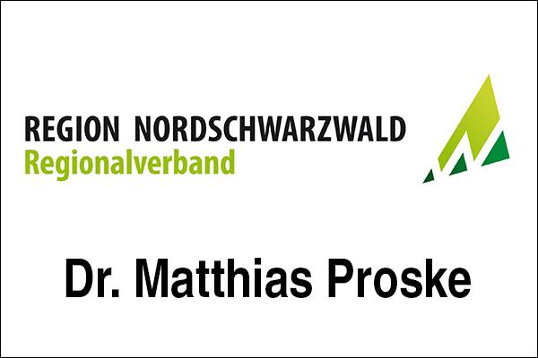 Logo Regionalverband Nordschwarzwald, Innovationsintermediär Dr. Matthias Proske