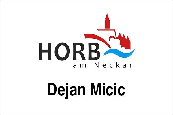 Logo Stadt Horb, Innovationsintermediär Dejan Micic