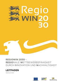 Titelseite des RegioWIN 2030 Leitfaden