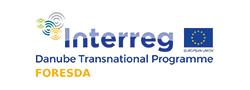 Logo FORESDA Projekt Interreg: Danube Transnational Programme
