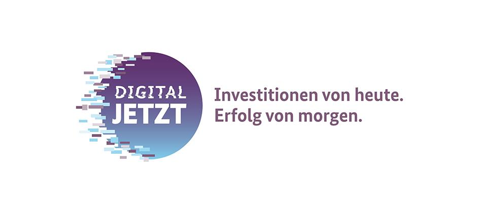 Logo Digital Jetzt: Investitionen von heute. Erfolg von morgen.