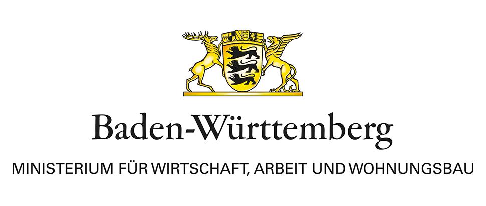 Logo Ministerium für Wirtschaft, Arbeit und Wohnungsbau Baden-Württemberg