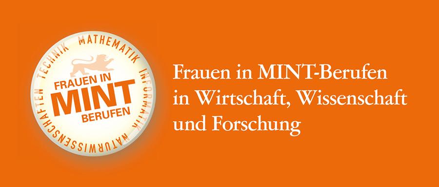 Logo von Frauen in MINT-Berufen in Wirtschaft, Wissenschaft und Forschung