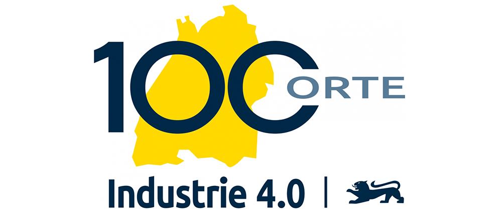 Logo 100 Orte für Industrie 4.0 in Baden-Württemberg
