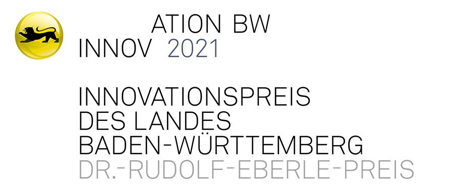 Logo Innovationspreis des Landes Baden-Württemberg, Dr.-Rudolf-Eberle-Preis