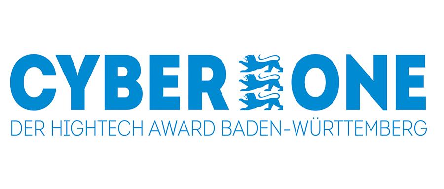 Logo CyberOne, Der Hightech Award Baden-Württemberg