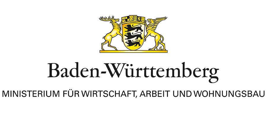 Logo des Ministeriums für Wirtschaft, Arbeit und Wohnungsbau Baden-Württemberg