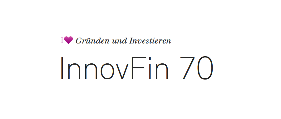 Logo Förderprogramm InnovFin 70 der L-Bank