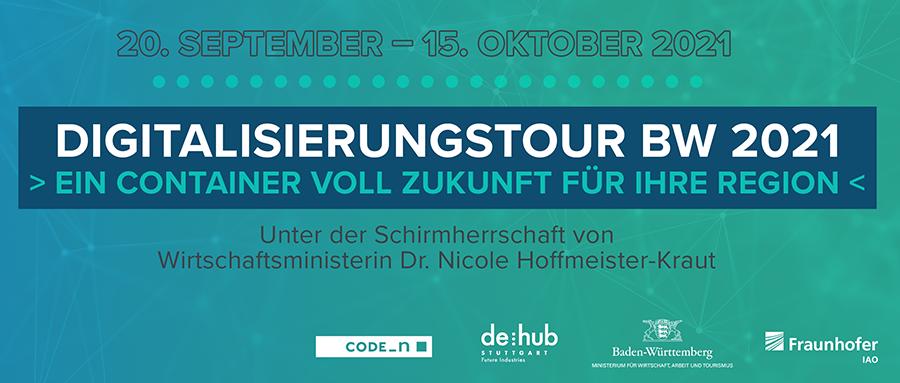 Ausschnitt des Flyers der Digitalisierungstour Baden-Württemberg 2021