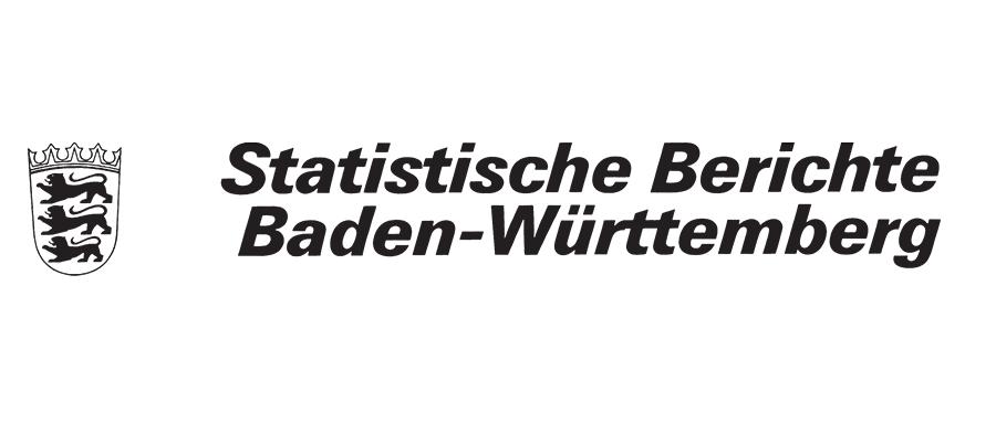 Statistische Berichte Baden-Württemberg mit dem Wappen Baden-Württembergs